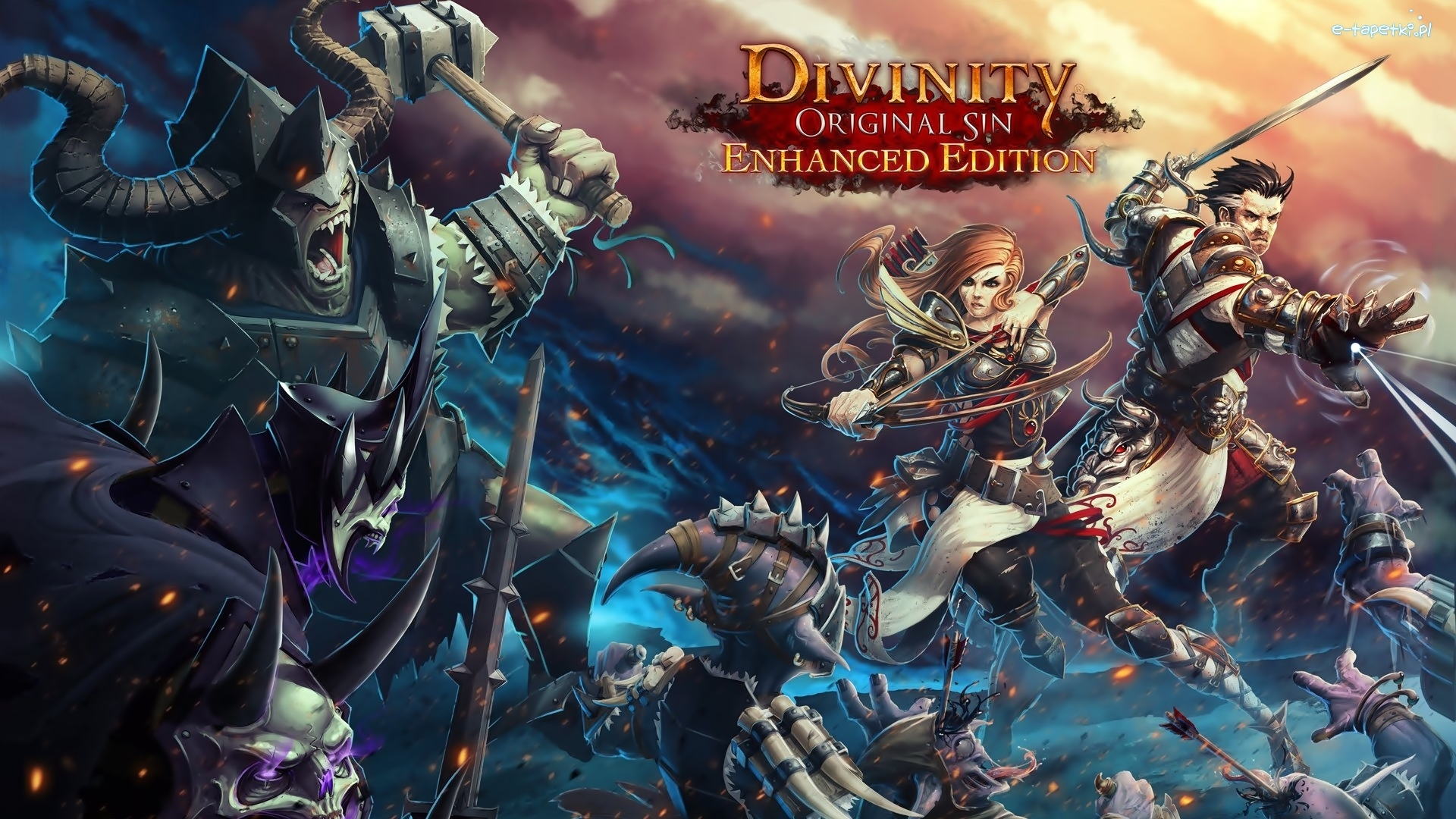 Divinity Original Sin Enhanced Edition, Gra, Postacie