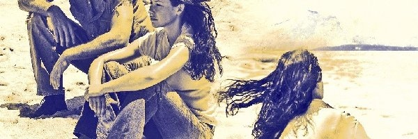 Evangeline Lilly, Lost, Serial, Zagubieni, plaża, Matthew Fox