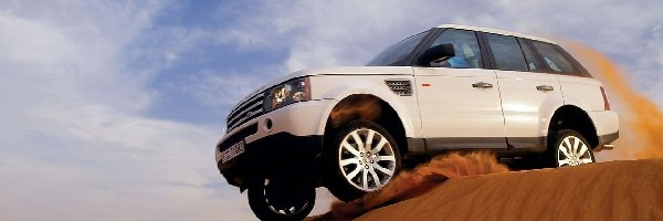 Top Gear, Pustynia, Land Rover Range Rover