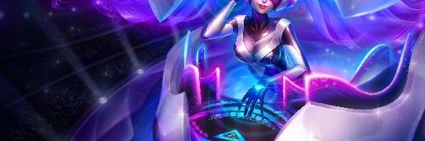 Sona, League of legends, DJ