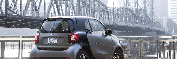 Smart, Fortwo, Tył, Most