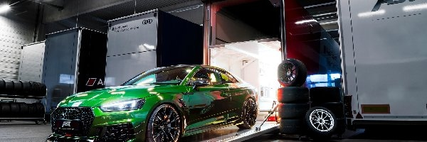 Zielone, Audi RS5, Coupe