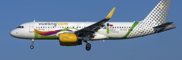 Airbus A320, Linie lotnicze, Vueling Airlines