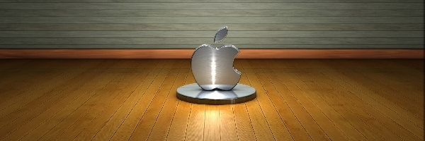 Apple, Logo, 3D
